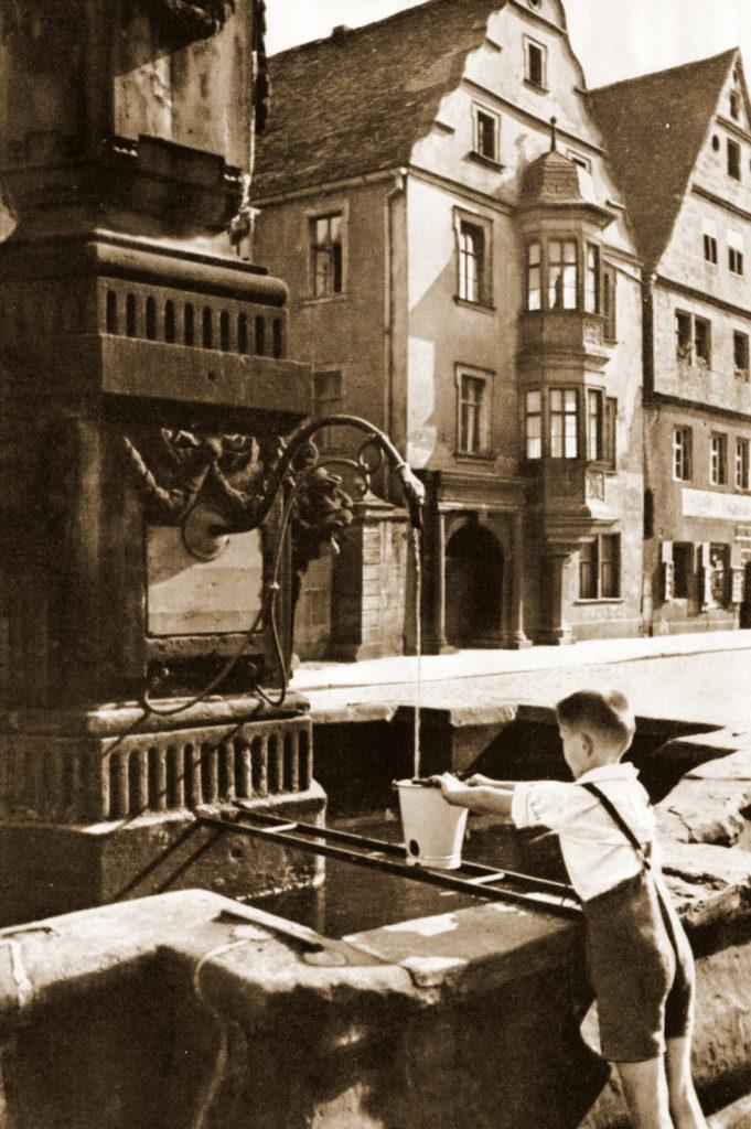 Historisches Foto Himml Bestattungen